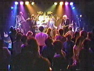 Eagertones performing on REV, Seattle live music club, early 80's